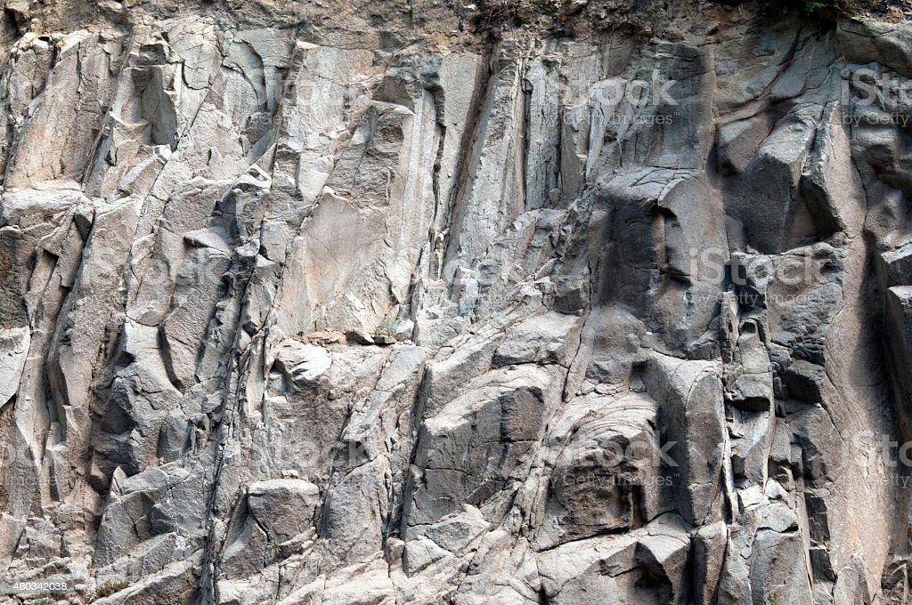Granite texture wall stock photo