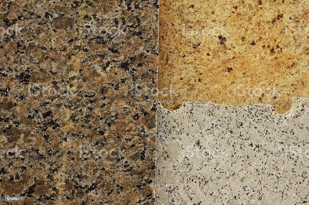 Granite trio royalty-free stock photo