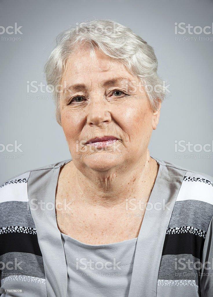 Granny royalty-free stock photo