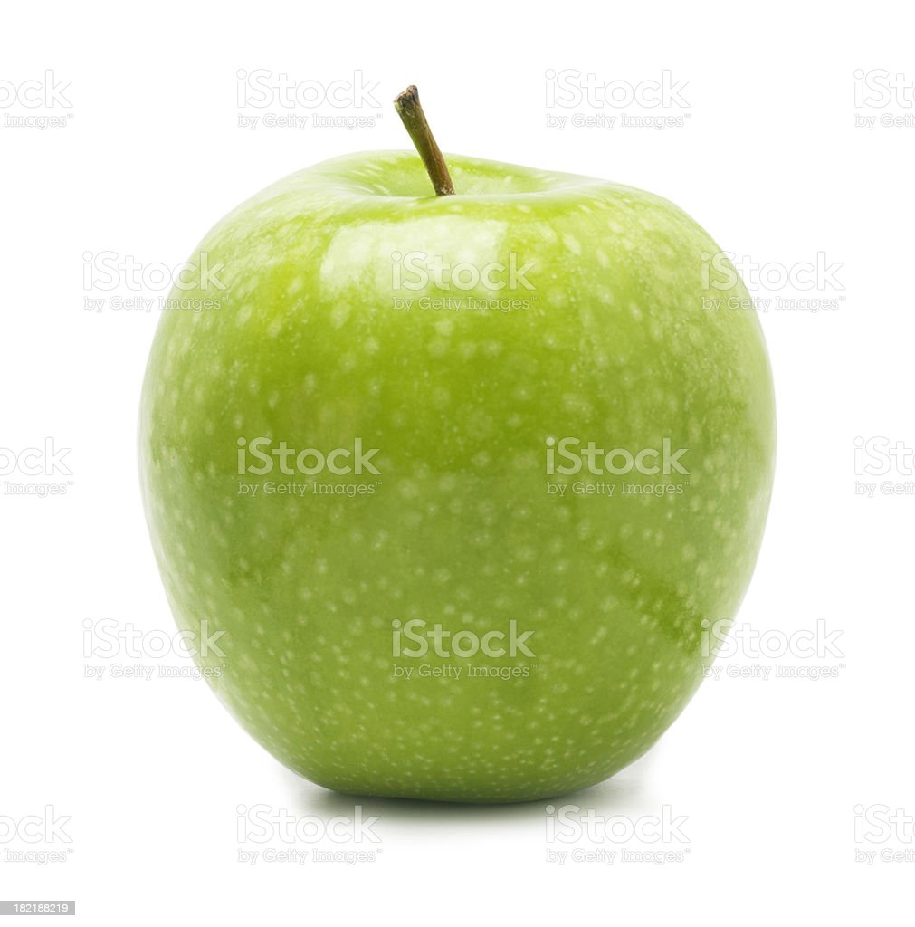 Granny Smith Apple royalty-free stock photo