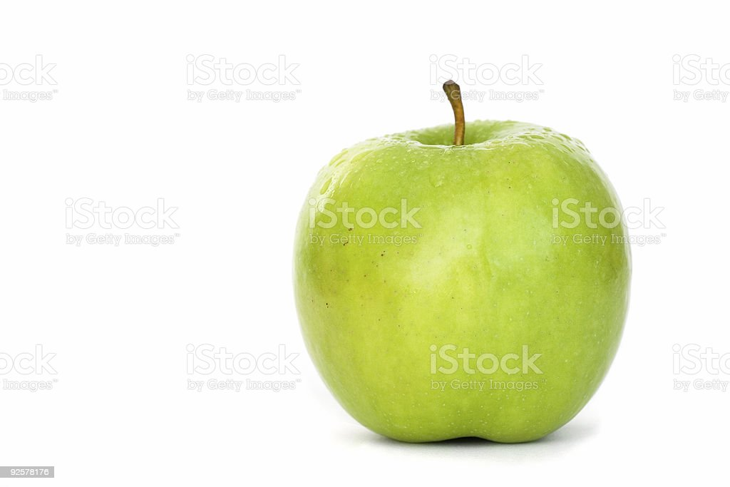 Granny Smith Apple - Whole royalty-free stock photo