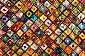 Granny square afghan