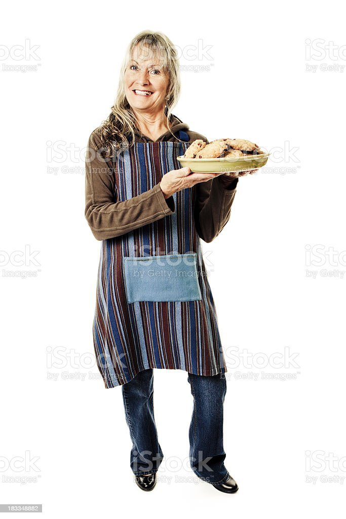 Granny's cookies royalty-free stock photo