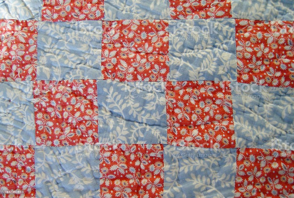 Granny's Quilt1 royalty-free stock photo