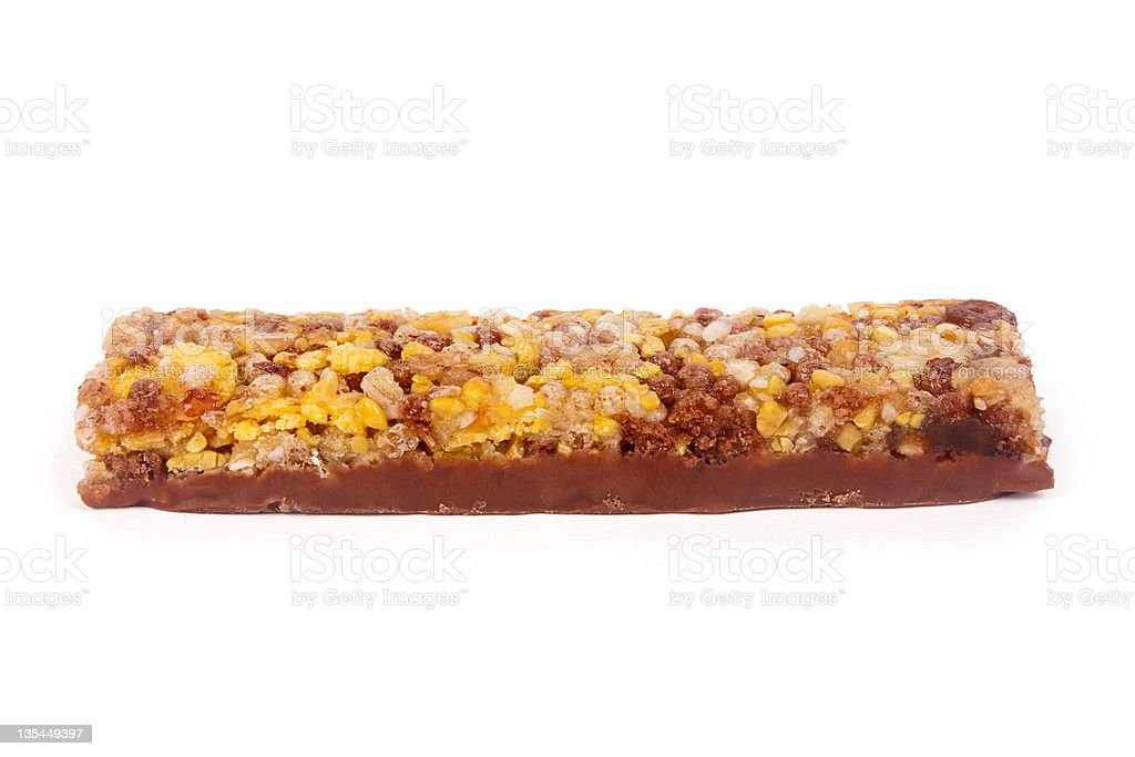 Granola bar royalty-free stock photo