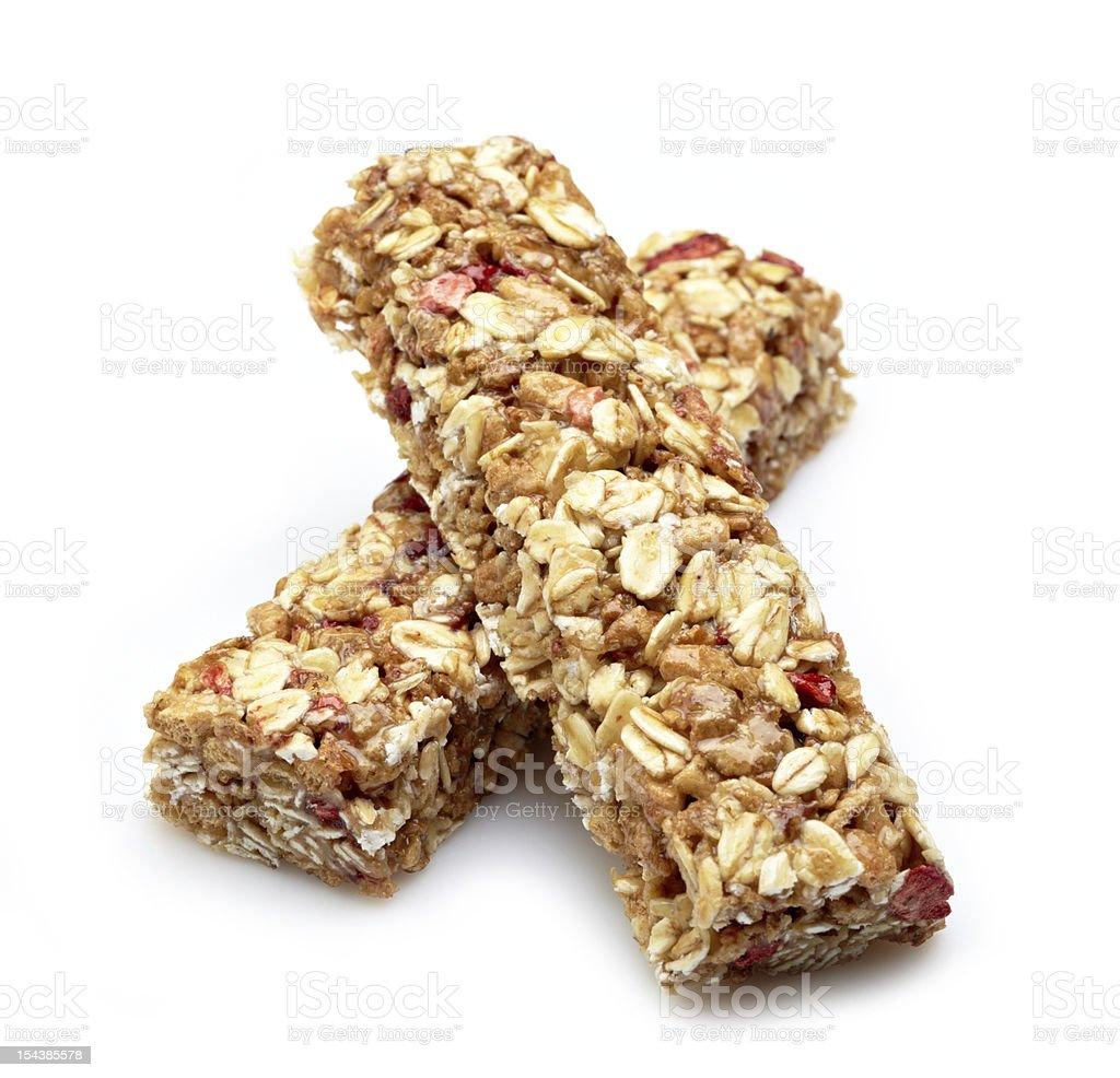 Granola bar stock photo