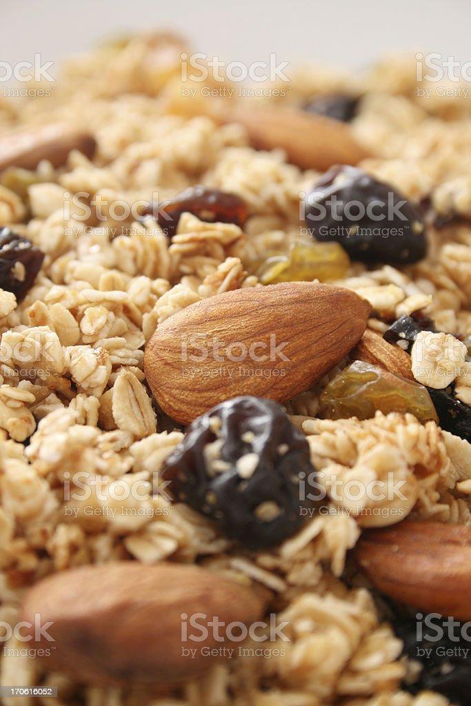 Granola mix stock photo