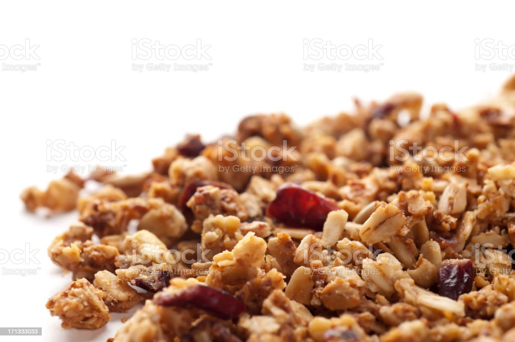 Granola stock photo