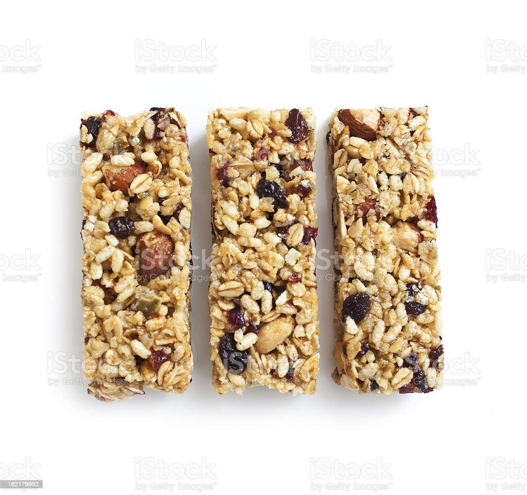 Granola Protein Bar stock photo