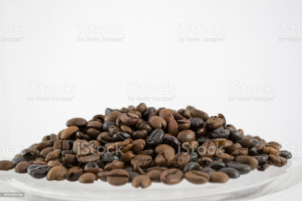 granos de cafe stock photo