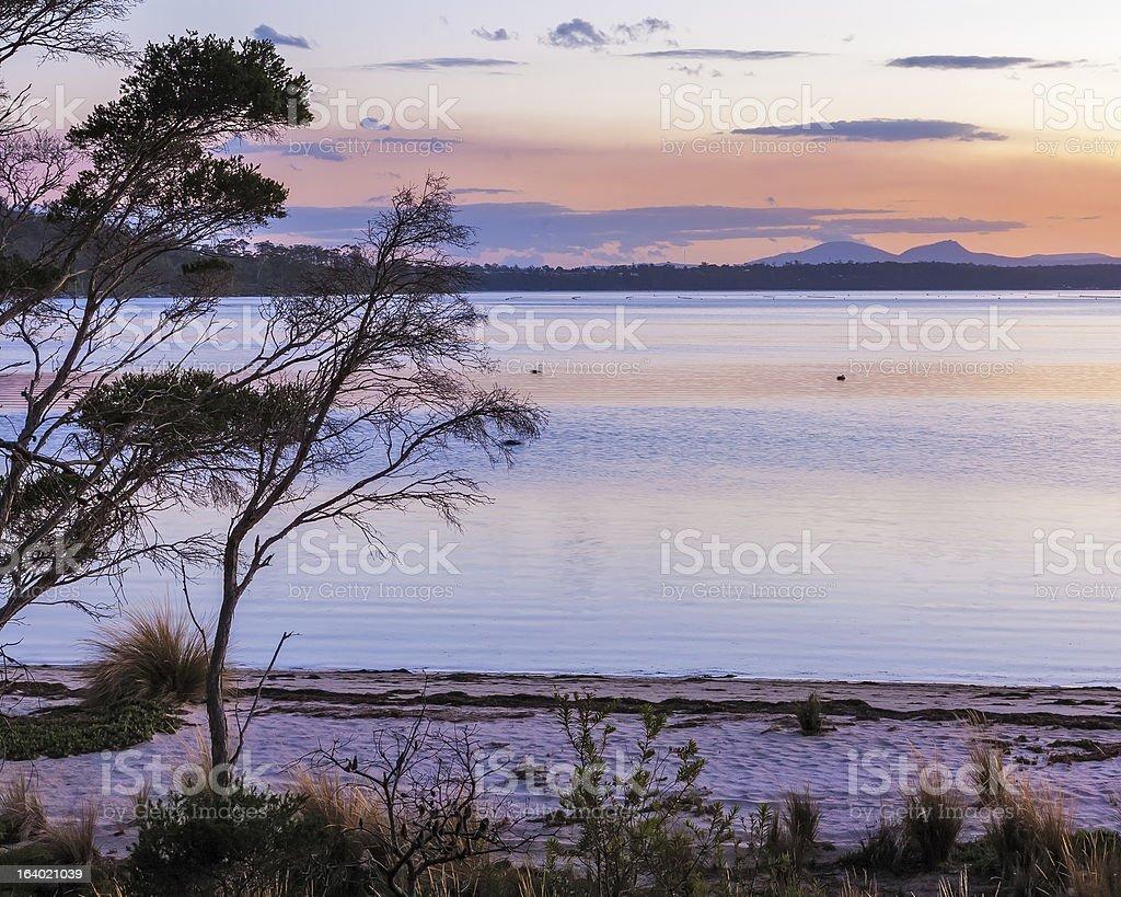 Grants le lagon photo libre de droits