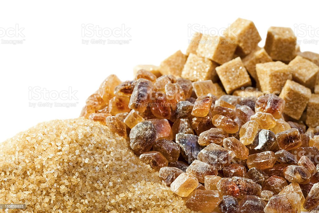 Granulated , not refined, sugar candy royalty-free stock photo