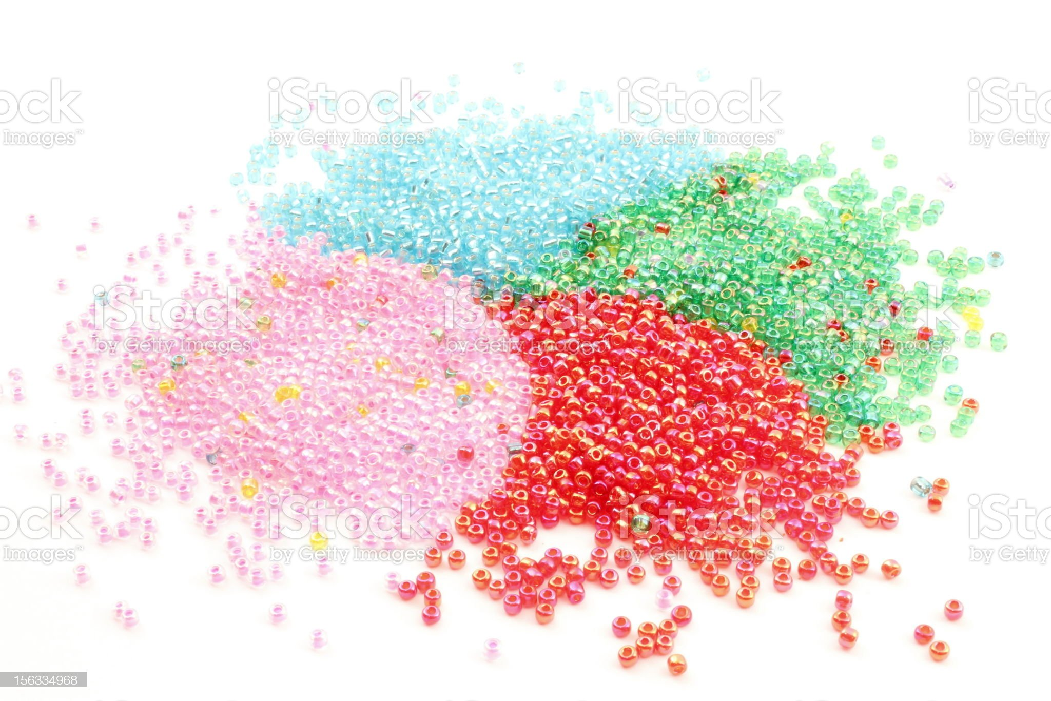 granules of PVC royalty-free stock photo