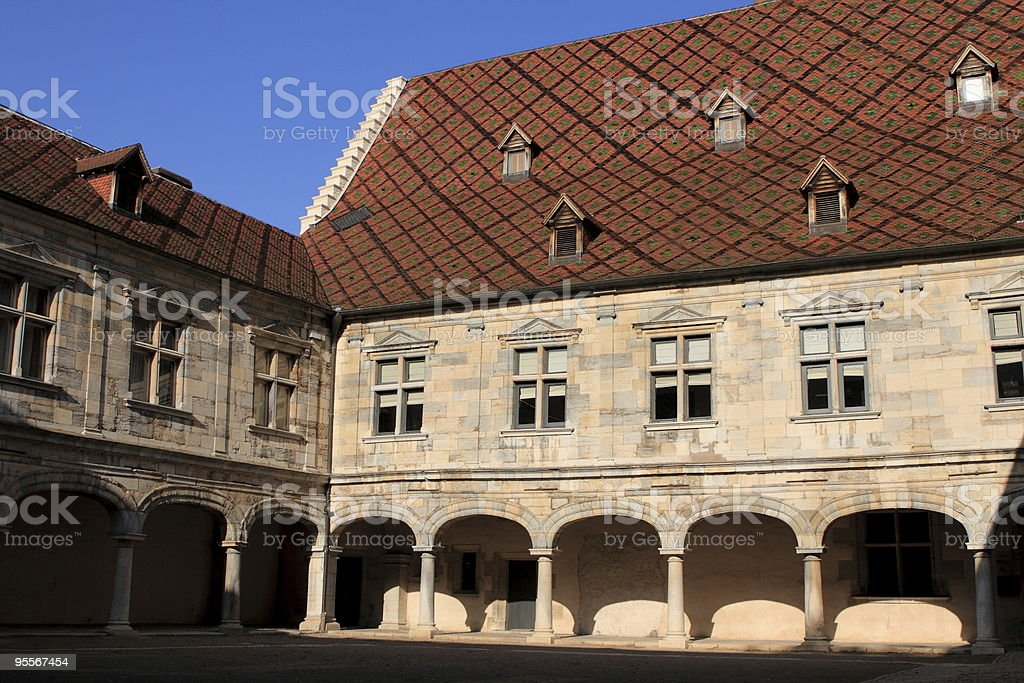Granvelle palace in Besan?on, Franche-Comt? stock photo