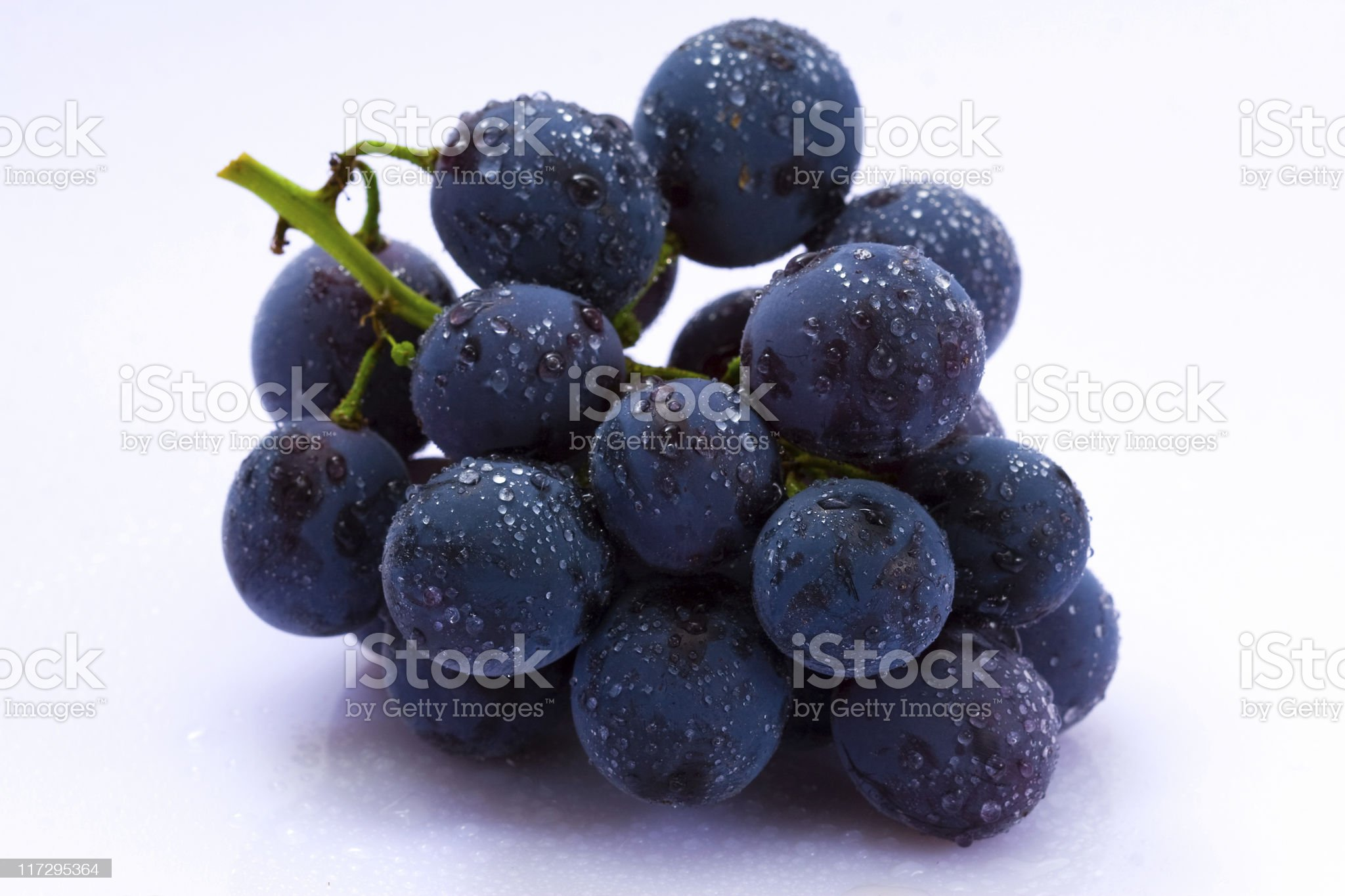 Grape cluster royalty-free stock photo