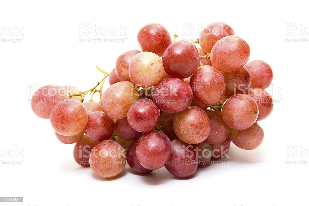 Grappe de raisin photo libre de droits