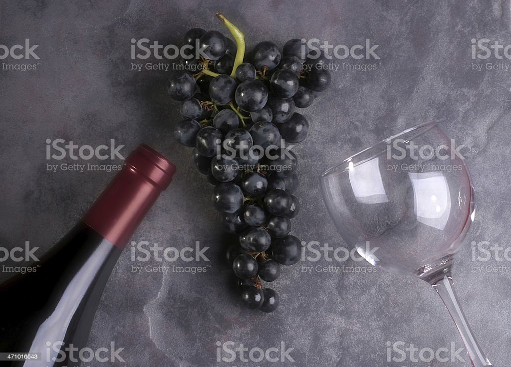 Grape Composition royalty-free stock photo