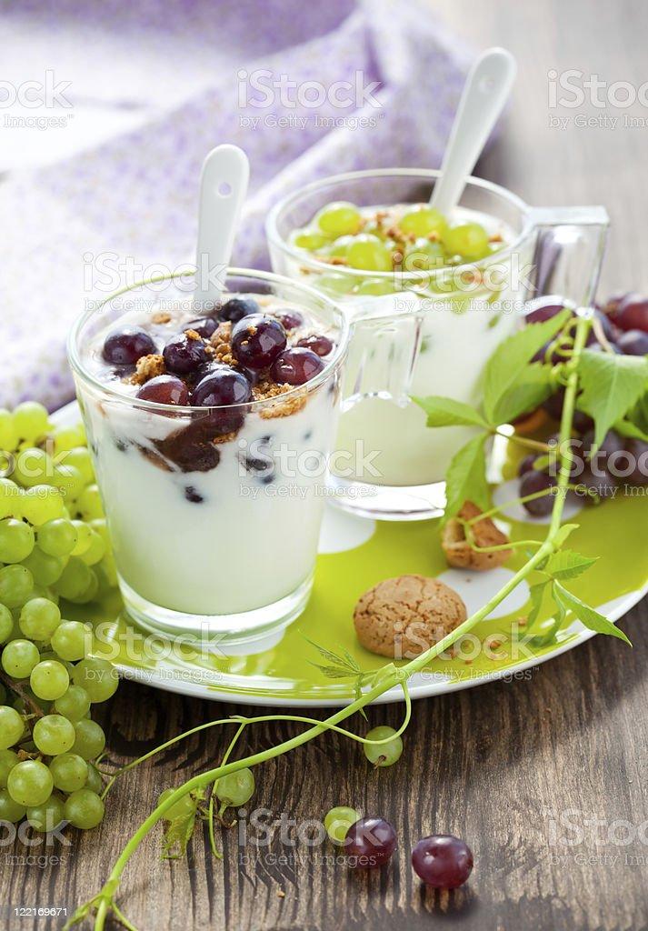 grape dessert royalty-free stock photo