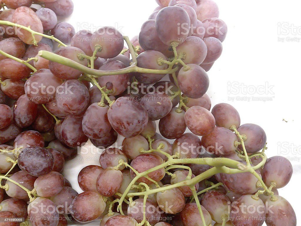 grape isolated on white royalty-free stock photo
