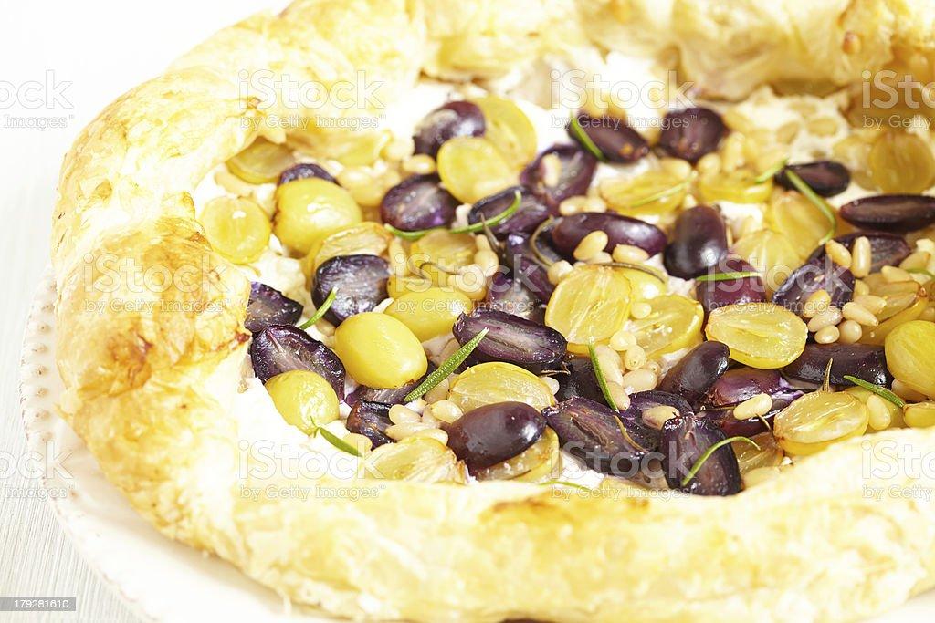 Grape pie royalty-free stock photo