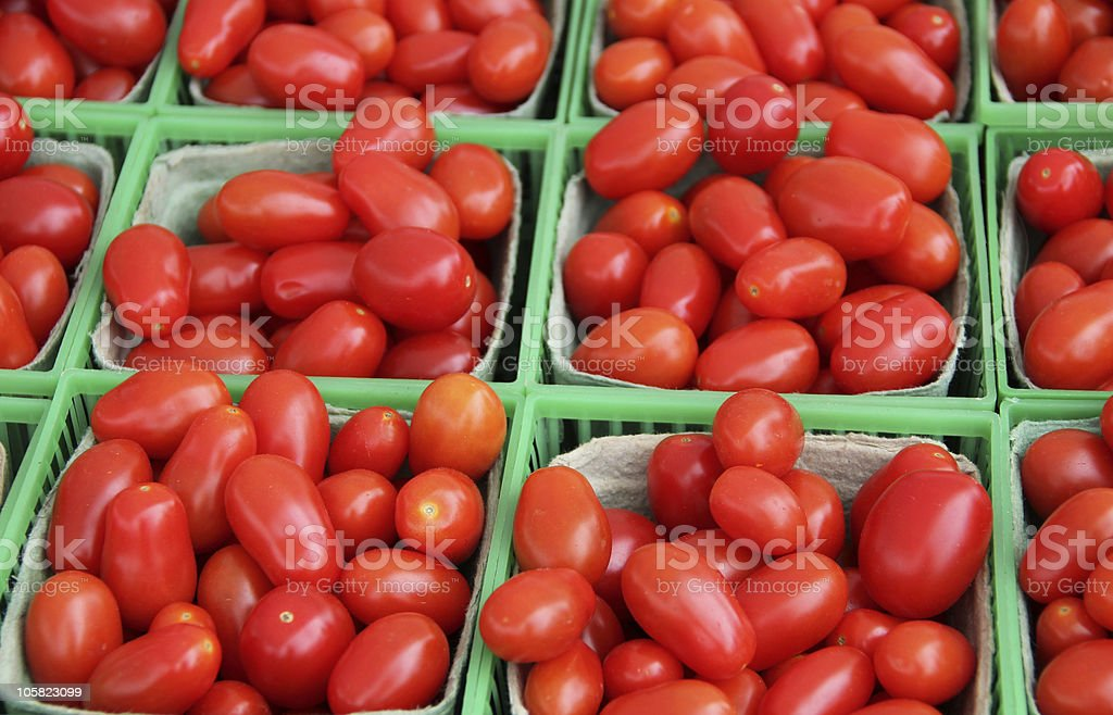 Grape Tomatoes royalty-free stock photo