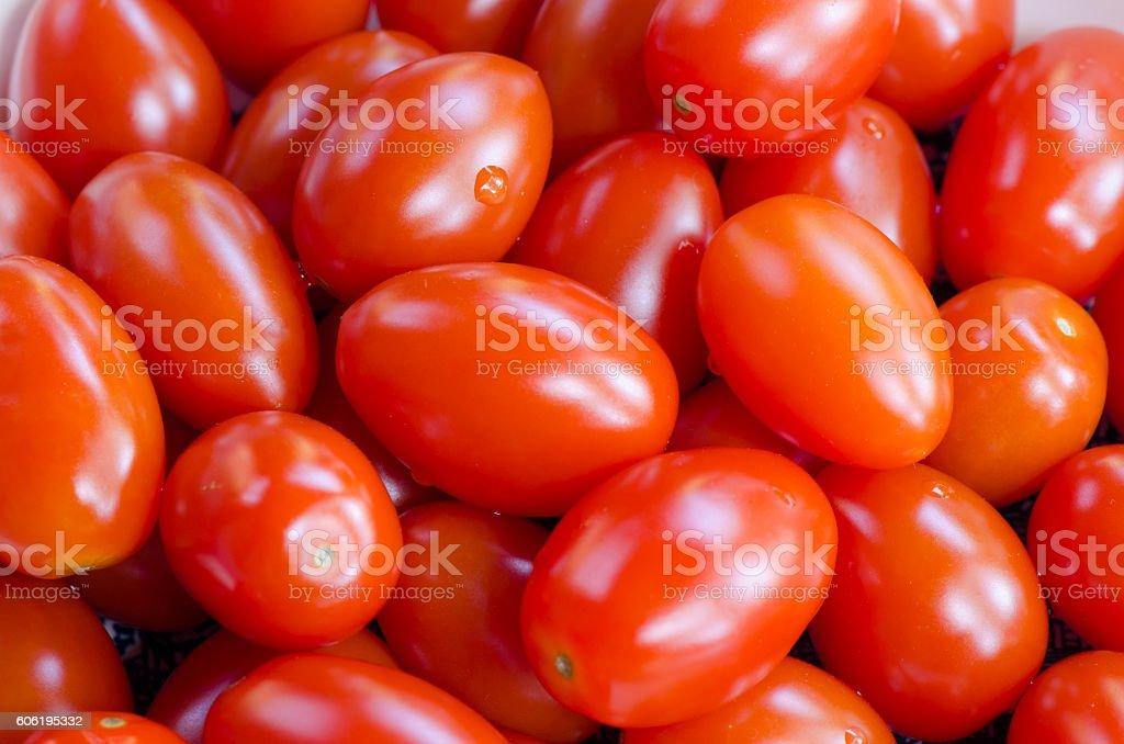 Grape Tomatoes stock photo