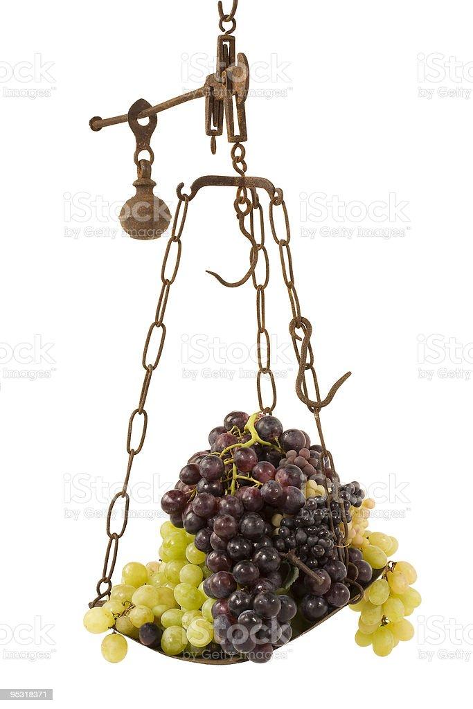 grape with balance stock photo
