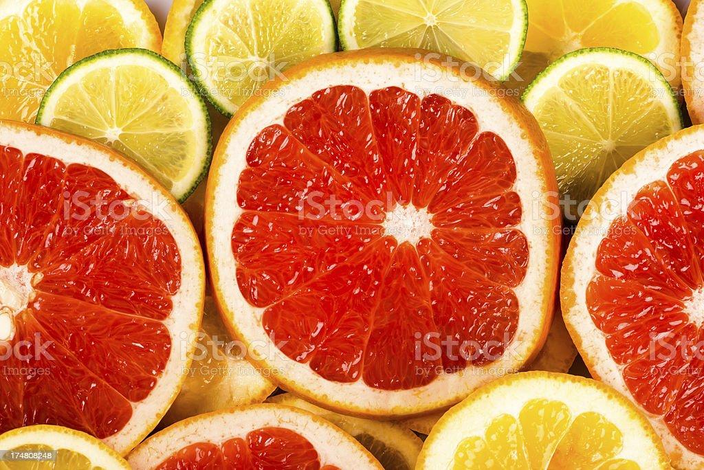 grapefruit background royalty-free stock photo