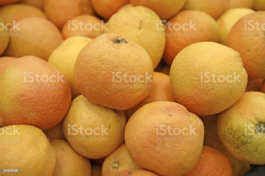 Grapefruit Bargain Bin stock photo