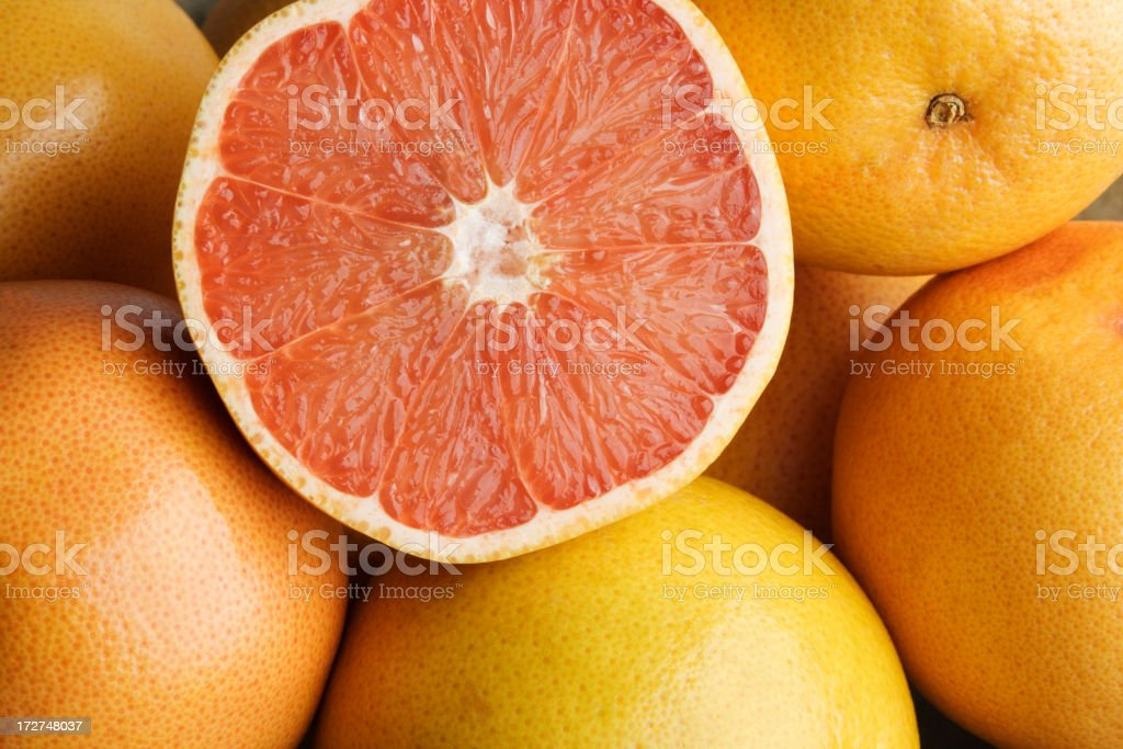 Grapefruit Half royalty-free stock photo