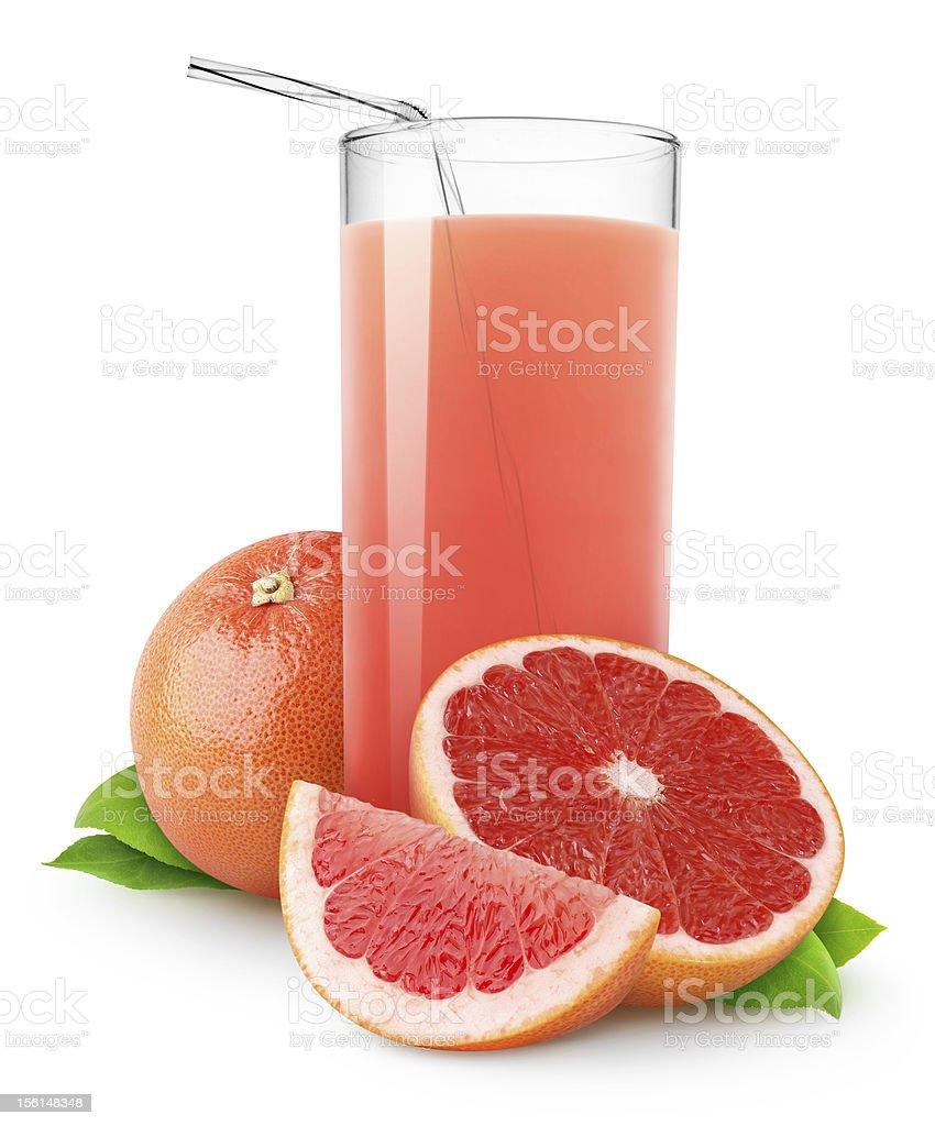 Grapefruit juice royalty-free stock photo