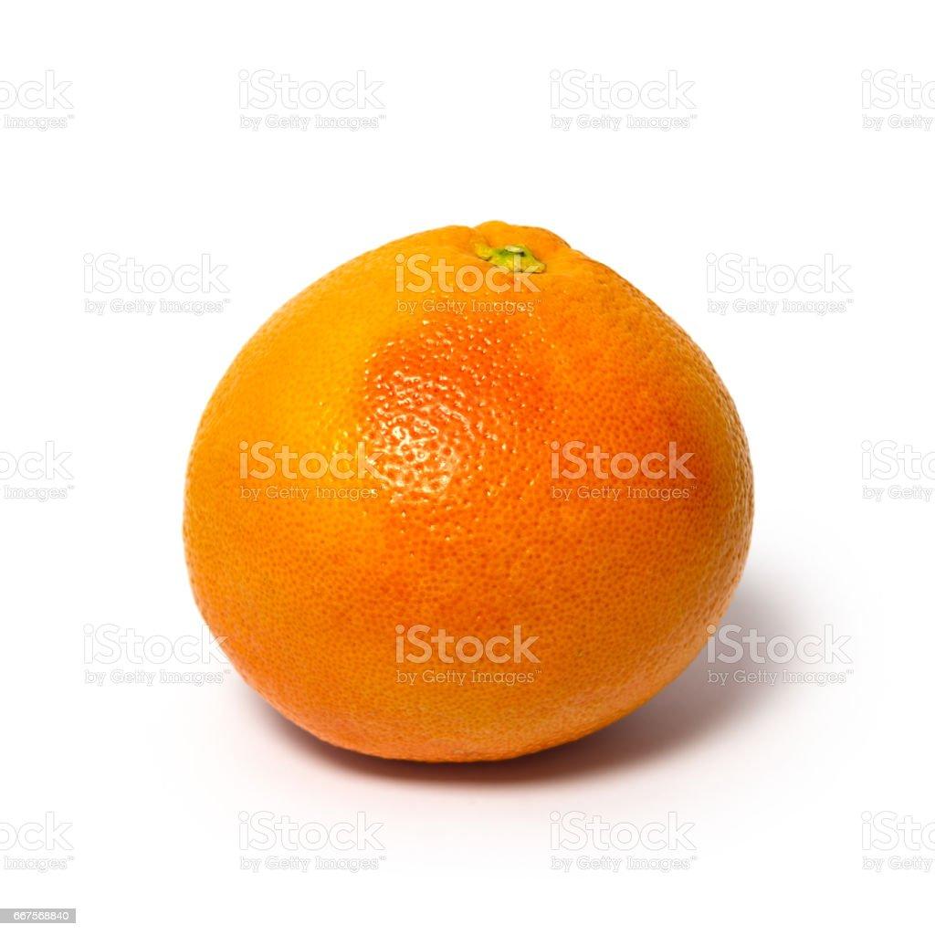 Grapefruit on a white background stock photo