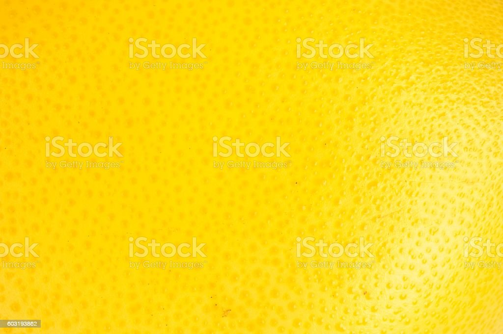 Grapefruit peel texture stock photo