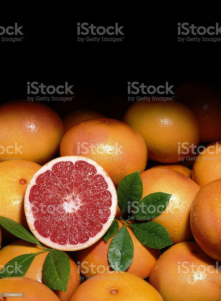 Grapefruit red Background royalty-free stock photo