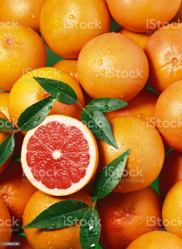 Grapefruit red  wallpaper stock photo