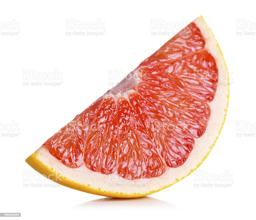 Grapefruit Slice royalty-free stock photo