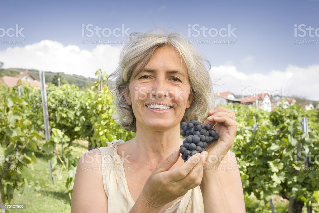Grapes Are Healthy stock photo