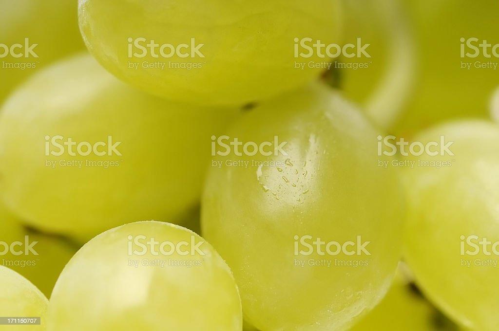 Grapes close up stock photo