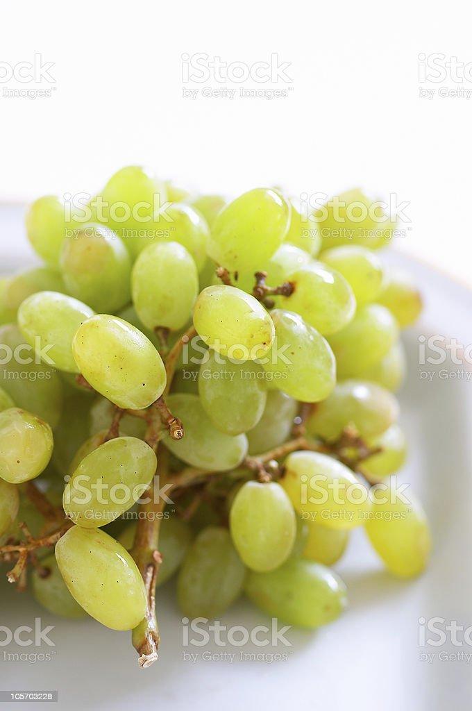 grapes for desert royalty-free stock photo