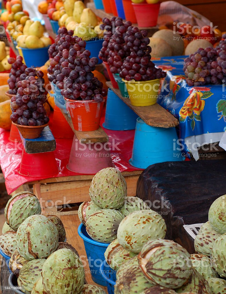 Grapes for Sale royalty-free stock photo