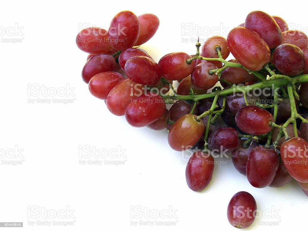 Grapes - Isolated royalty-free stock photo