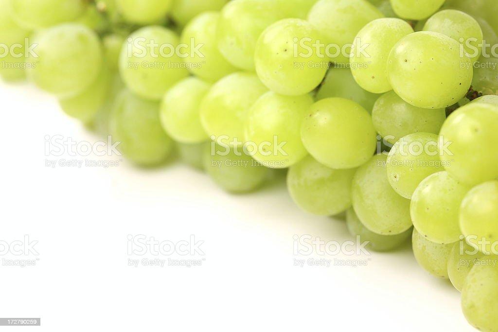 Grapes on white royalty-free stock photo