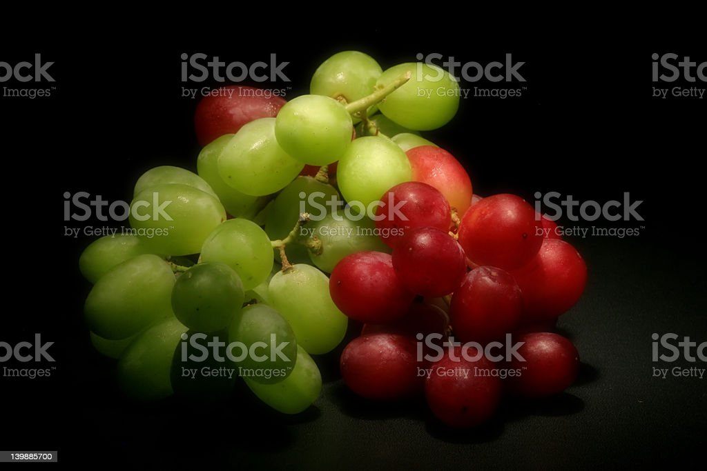 Grapes (Soft Focus) stock photo