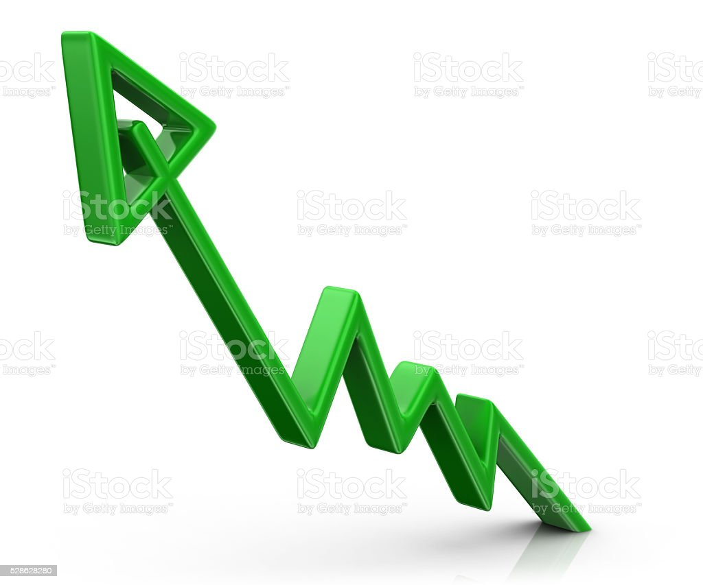 Graph - Growth stock photo