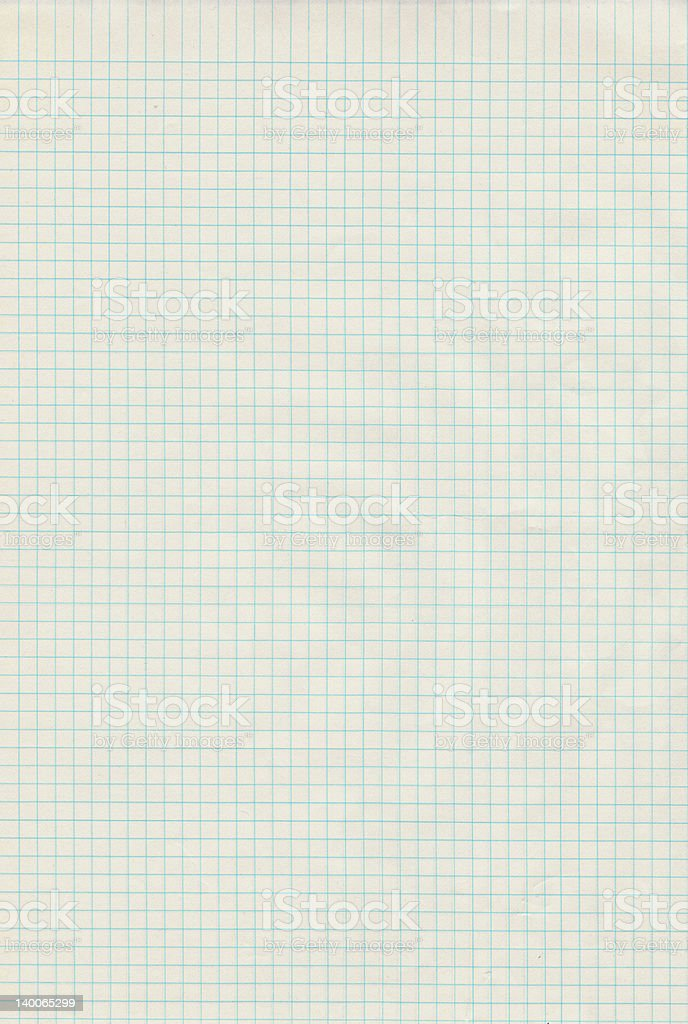 Graph Paper 2 stock photo