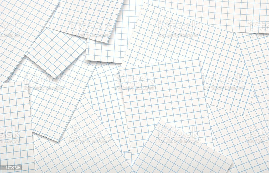 Graph Paper Abstract royalty-free stock photo