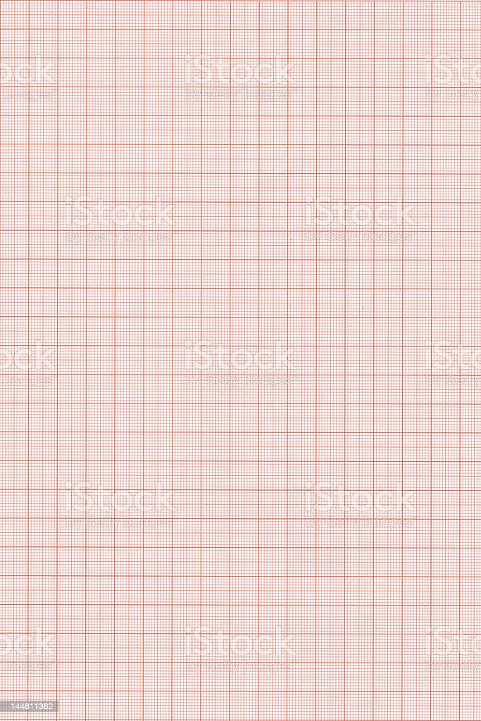 Graph paper background high resolution royalty-free stock photo