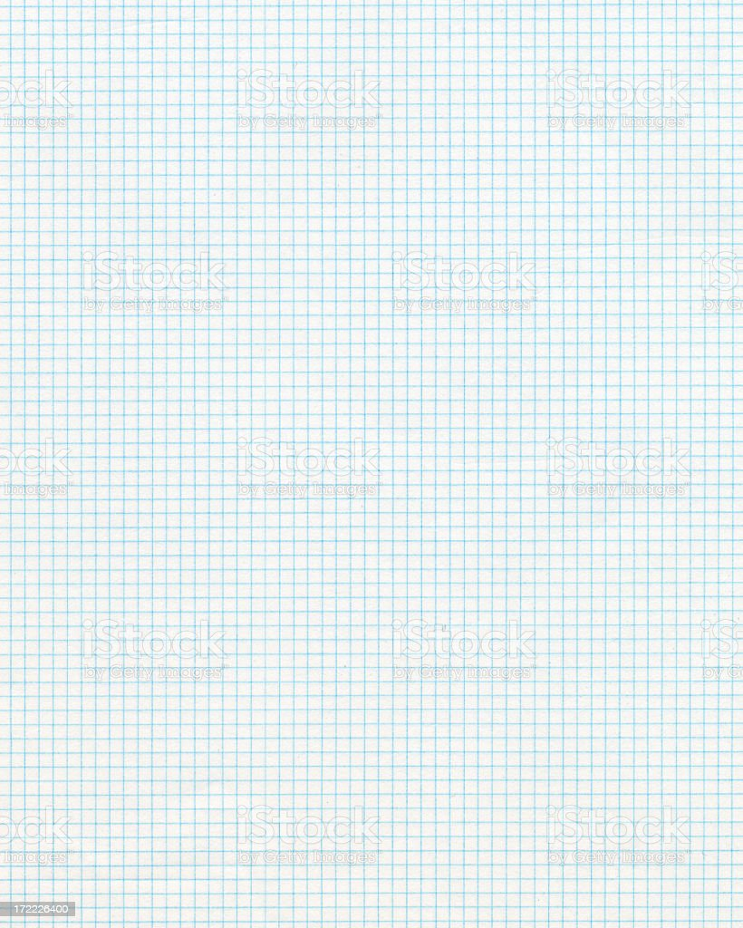 Graph paper clip art photograph stock photo