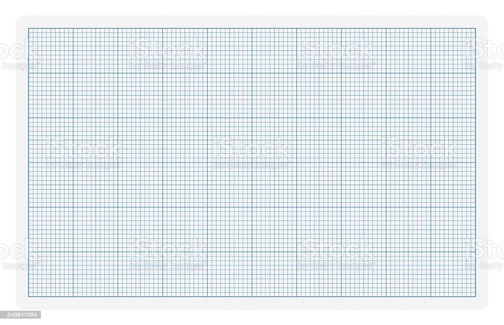 Graph paper page textured background isolated stock photo