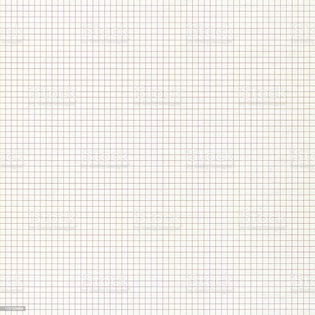 Graph paper textured background stock photo